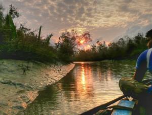 River in Bangladesh via Flickr (Creative Commons)