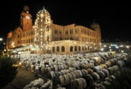 Taraweeh Prayers during Ramadan in Karachi, Pakistan