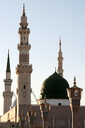 The Prophet's Mosque in Medina